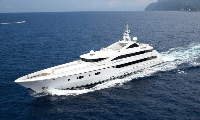 Superyacht TURQUOISE Lowers Charter Rate for Limited Time