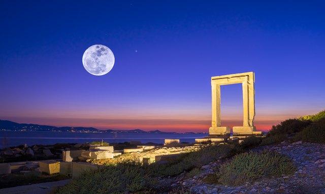 The Portara of Naxos