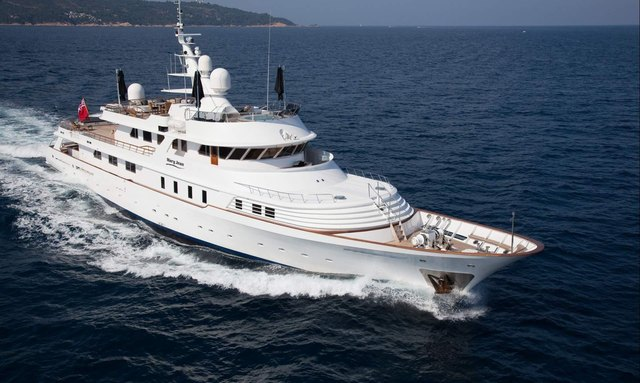 Charter yacht Mary Jean crusing in the Mediterranean