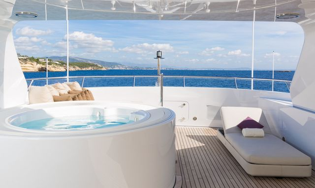Feadship M/Y GO offers special rates on September charters around the Balearics