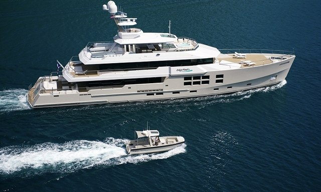 Expedition yacht BIG FISH cruising in South East Asia