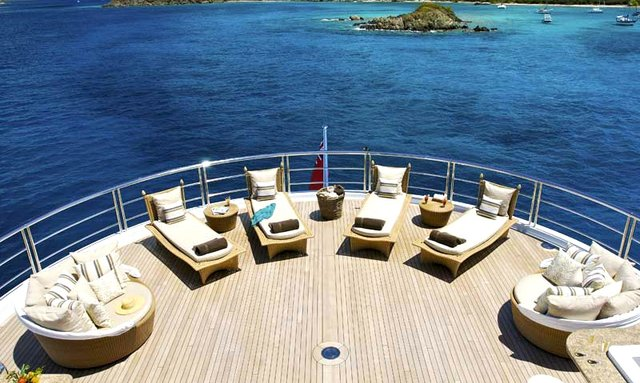 Motor Yacht Global (ex Kismet) helipad