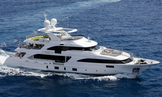 Benetti M/Y EDESIA available to charter in the Mediterranean