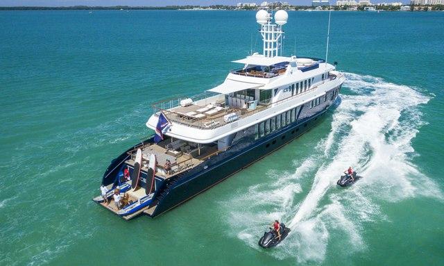 Superyacht 'Ice 5' available for Bahamas yacht charters