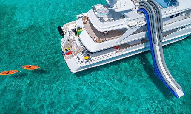 Superyacht At Last with new fit