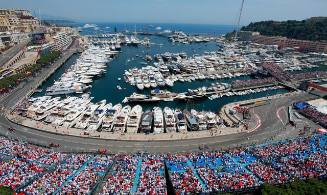Charter Yachts Arrive for the Monaco Grand Prix