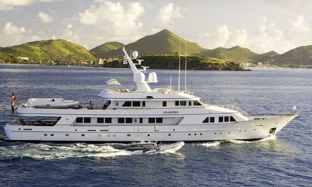 Charter yacht CHARISMA in the Mediterranean