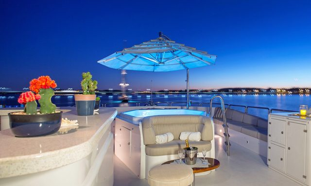Benetti M/Y SIETE to charter in the Bahamas over the holidays
