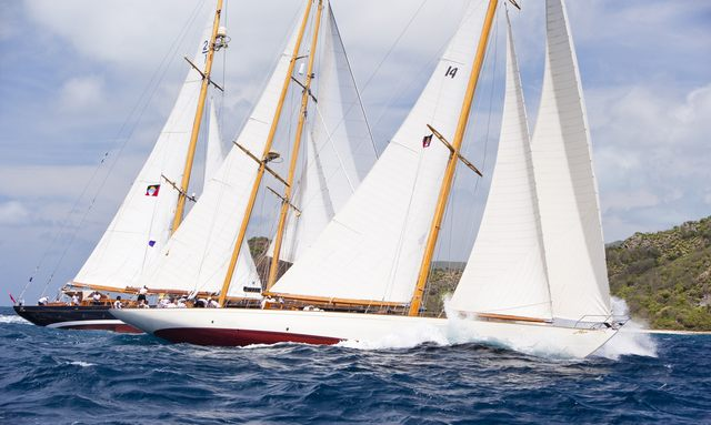 travel to the Caribbean for the Antigua Classic Yacht Regatta 2015