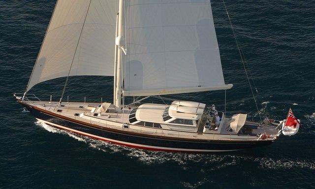 Chater yacht Marae sailing in Chesapeake Bay