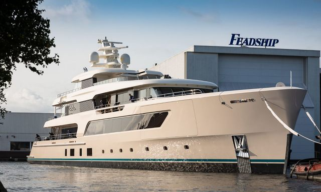 Brand New 70m Feadship M/Y SAMAYA Nears Delivery