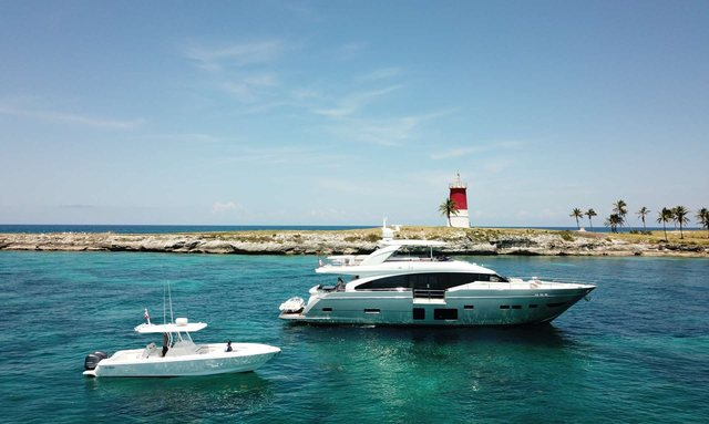M/Y 'Hot Pursuit' available for Bahamas charter this holiday season