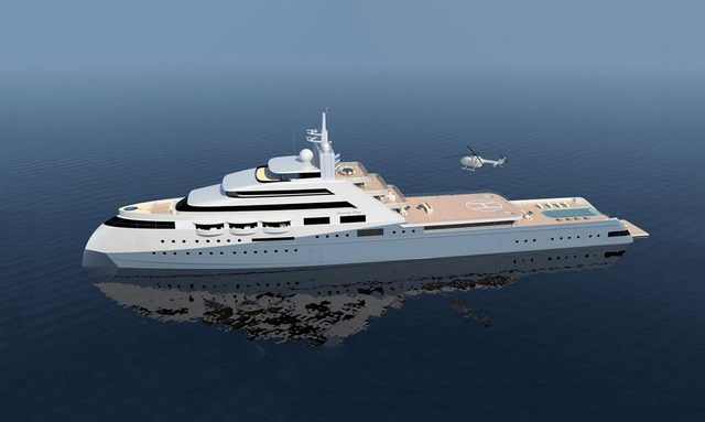 Expedition superyacht 'Project Icecap' set for launch in 2021