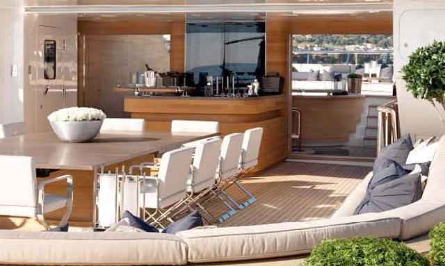 Exceptional sundeck on Sealyon