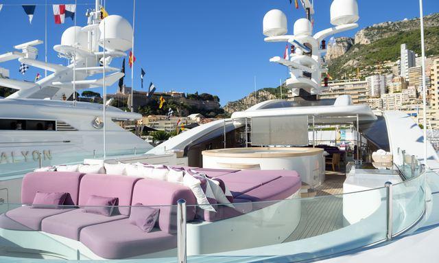 M/Y 'St David' Open For Monaco Grand Prix