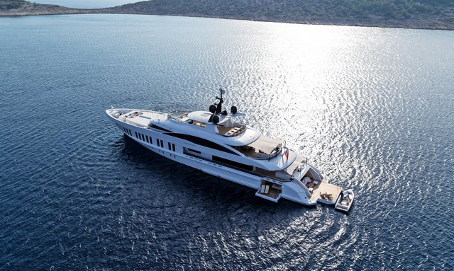 Luxury charter yacht SAMURAI to make world debut at Monaco Yacht Show 2019