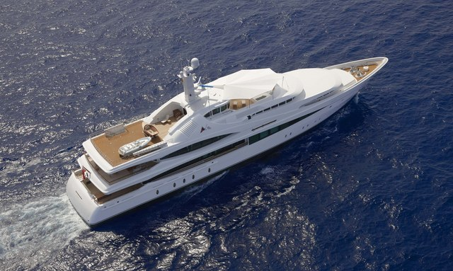 Charter Yacht 'Lady Christine' with be cruising around Tahiti this winter