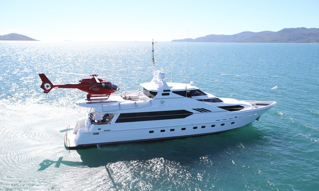 M/Y 'Flying Fish' Offers Great Barrier Reef Experience