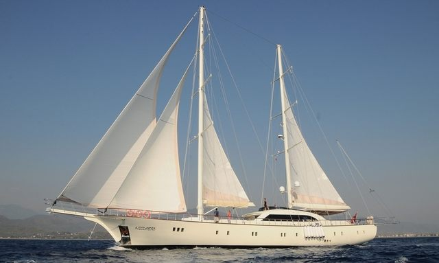 S/Y ALESSANDRO Offers Charter Deal in Mykonos