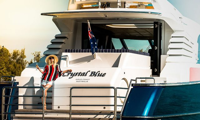 M/Y 'Crystal Blue' Cruises Australia's Gold Coast