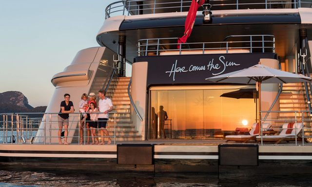 Charter M/Y 'Here Comes The Sun' In The Caribbean