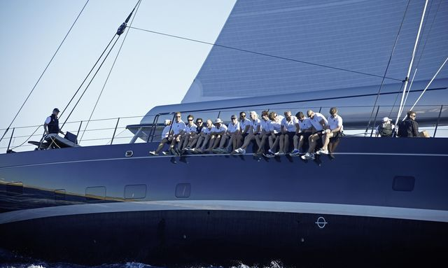 S/Y GANESHA Returns to Loro Piana Caribbean Regatta