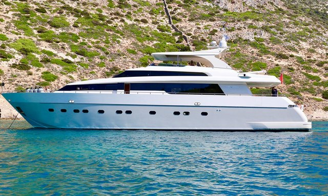 M/Y PANTHOURS reveals charter availability in Sardinia