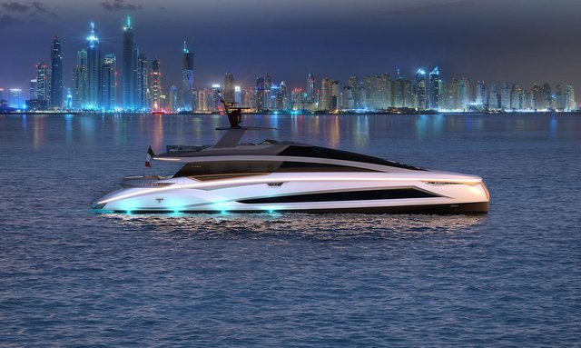 Luxury yacht 'ADAMAS 6' to charter in South East Asia at the end of 2020