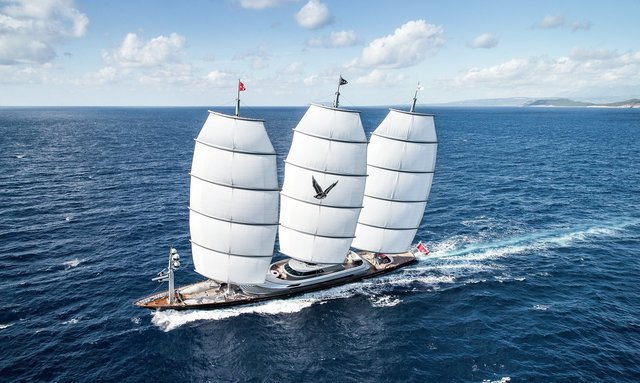 S/Y 'Maltese Falcon' steps in to provide humanitarian aid in the Mediterranean