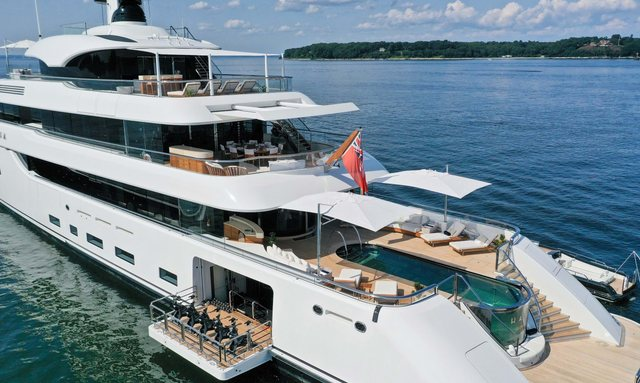 73m Feadship superyacht HASNA now available for luxury yacht charters