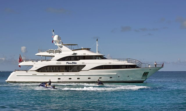 M/Y Pure Bliss' offers reduced rates on Caribbean charters