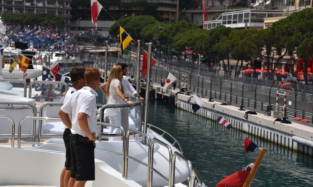 Chartering a yacht at the Monaco Grand Prix: everything you need to know