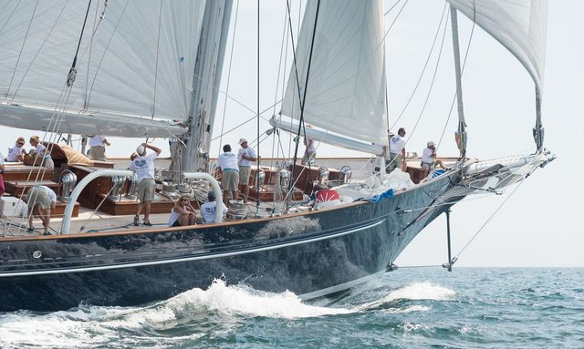 S/Y METEOR to Race at 2017 Candy Store Cup
