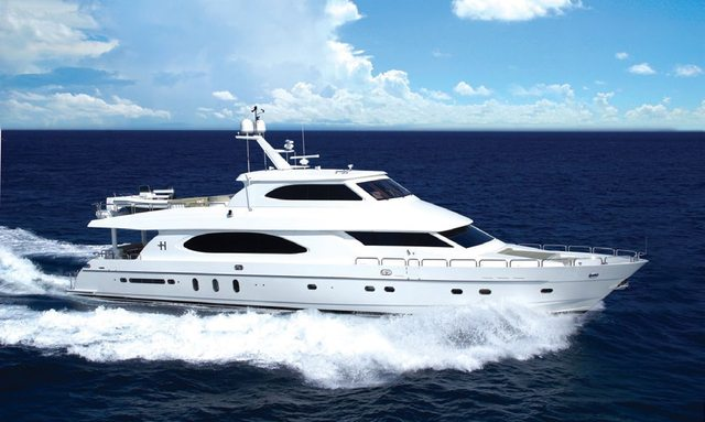 Motor Yacht Tigers Eye cruising in Florida