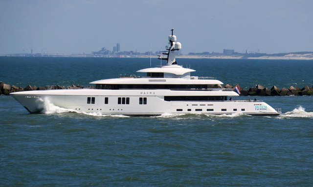 Video: Feadship M/Y HASNA Undergoing Sea Trials