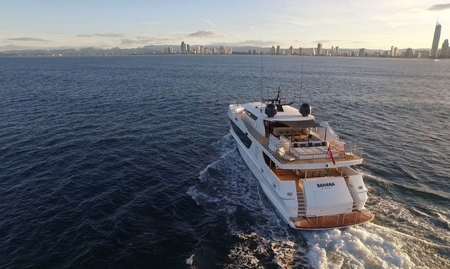 Refitted M/Y SAHANA Available in Australia