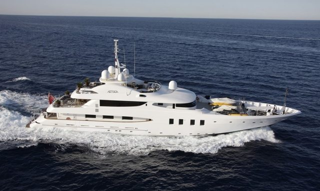 AZTECA II charter yacht in Mexico