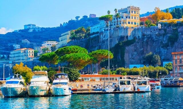sorrento on the amalfi coast