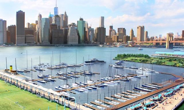 Superyacht Marina Planned for New York Harbour