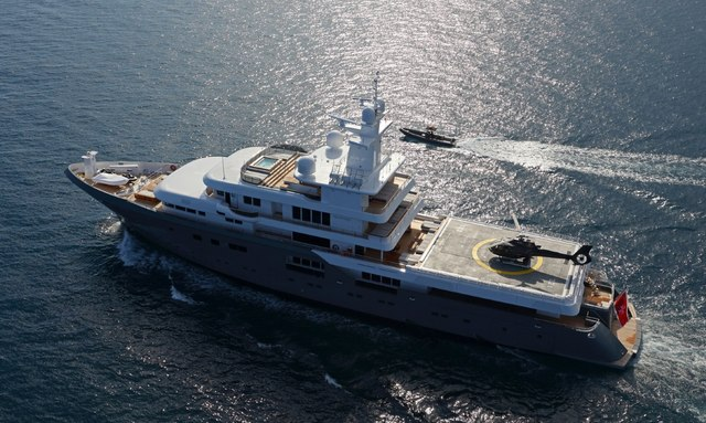 M/Y 'Planet Nine' available to charter in the Mediterranean this summer