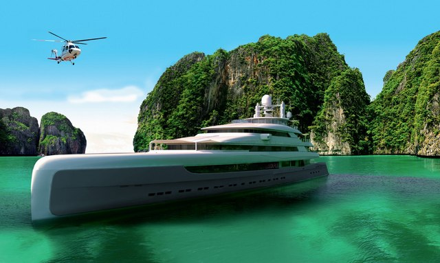 New renderings reveal serenity aboard 88m M/Y 'Illusion Plus'