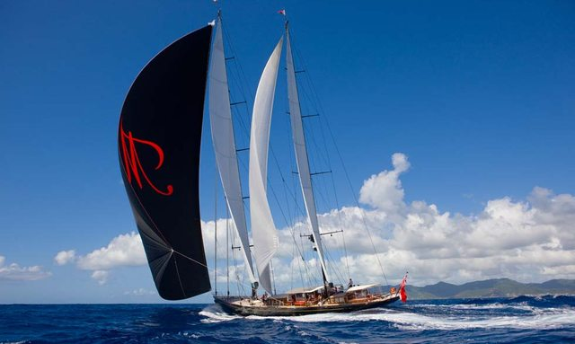S/Y MARIE reveals availability for Caribbean charters