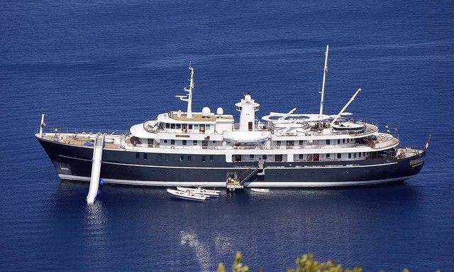 Charter Yacht SHERAKHAN refitted