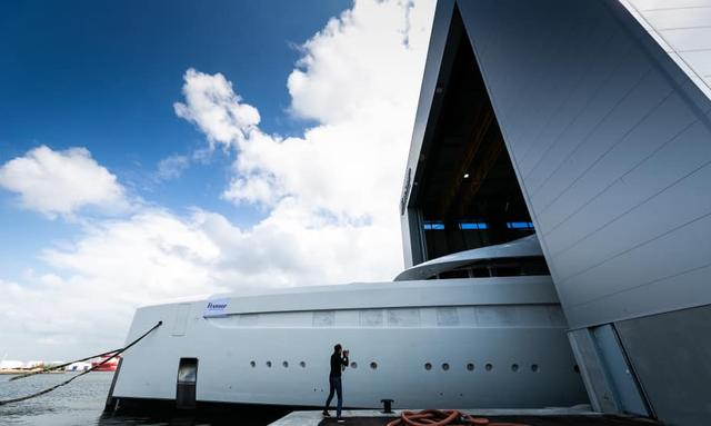 First glimpse of Feadship superyacht Project 816