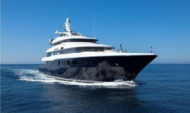EXCELLENCE V cruising in Greece