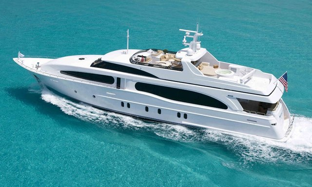 Heritage III cruising in the Bahamas