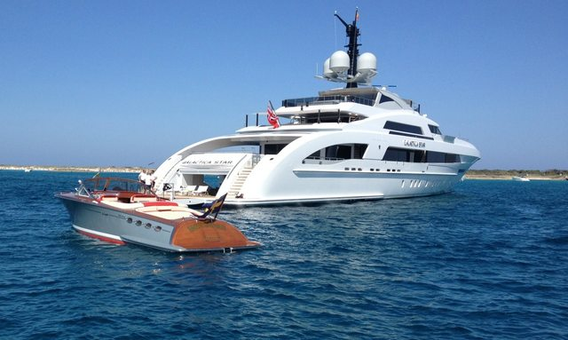 Beyonce celebrates birthday on luxury yacht Galactica Star