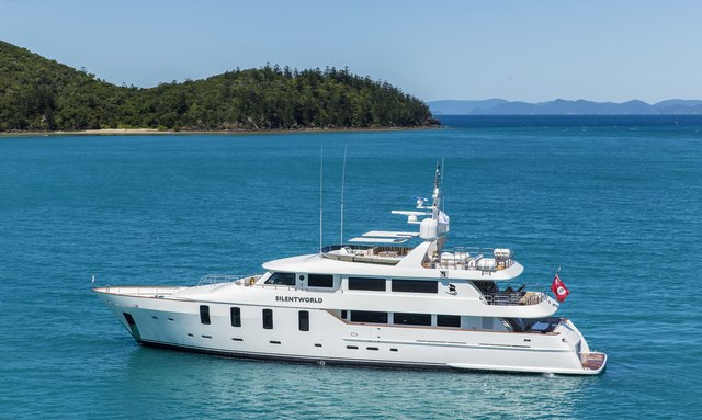 Charter M/Y SILENTWORLD in Fiji and Sydney