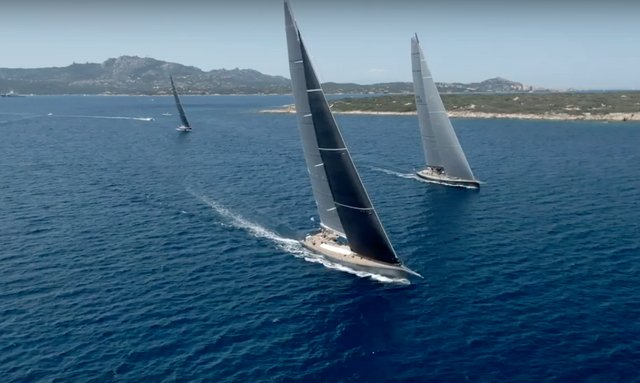Superyachts participating in Loro Piana Superyacht Regatta