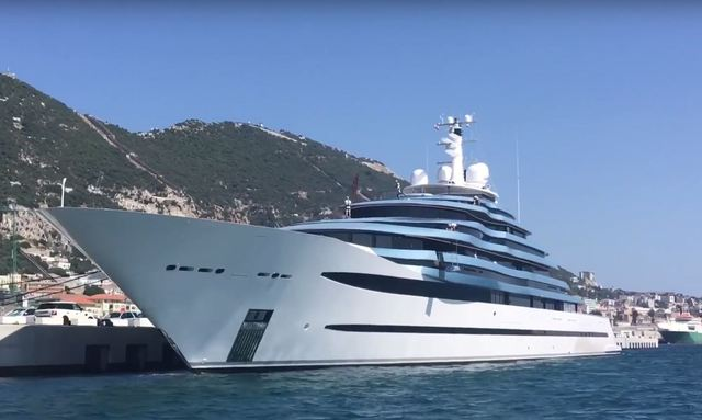 Video: 110m Oceanco Superyacht JUBILEE